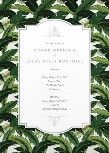 Beverly Hills - Corporate Invitations