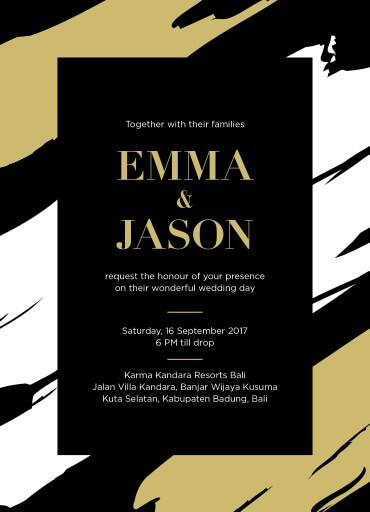Poised - Wedding Invitations