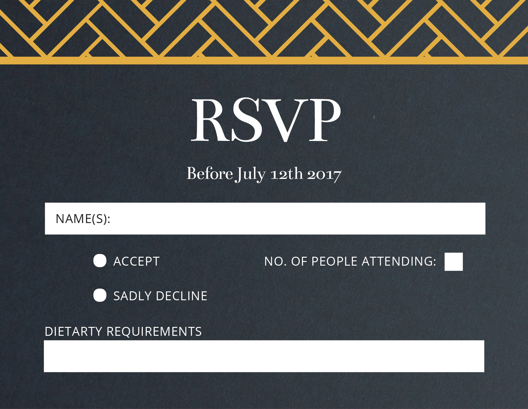 Rsvp username search
