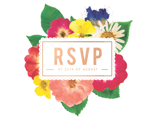 Spring Collection - RSVP