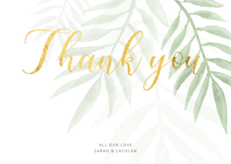 Thank You Cards & Thank You Notes Independent Designs