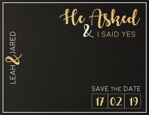 Foiling For You - Save The Date