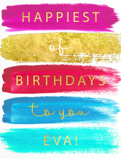 Happiest of Birthdays - birthday cards