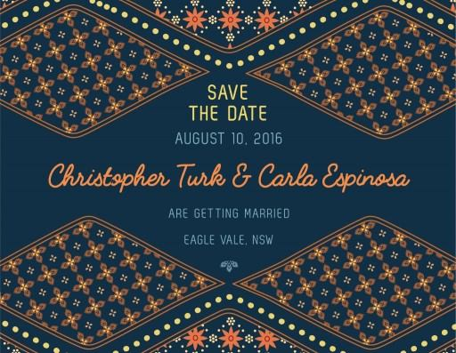 Moroccan Nights - Save The Date