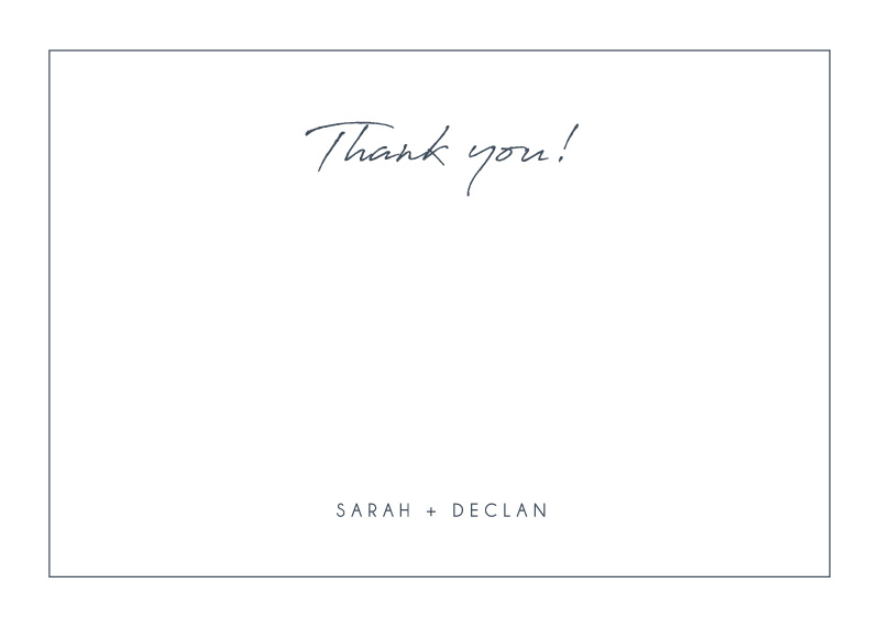 Watsons Bay Hotel - Thank You Cards