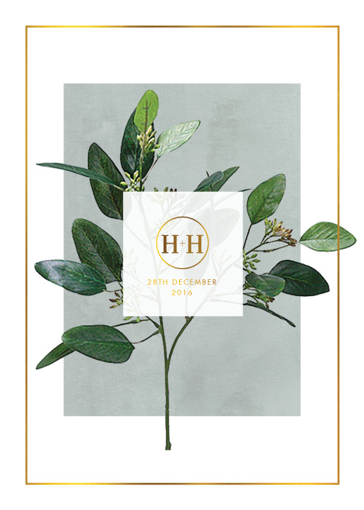 Garden Estate - Engagement Invitations