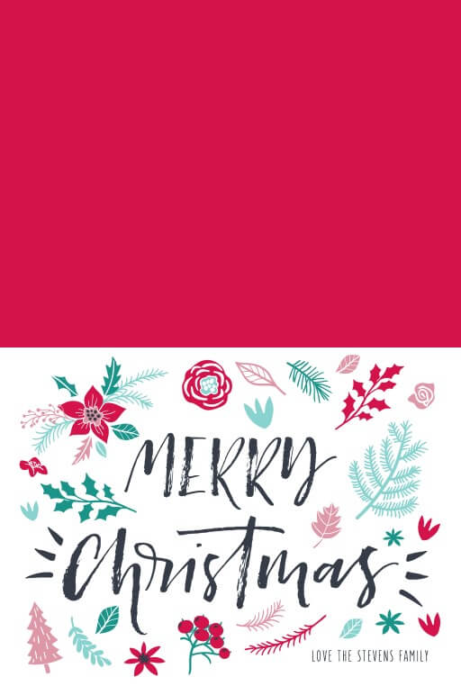 Merry little Christmas - christmas cards