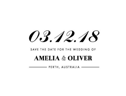 Violet - Save The Date