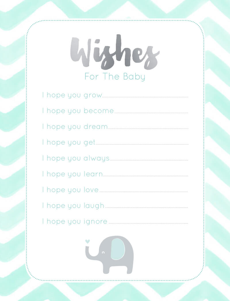 0b02908e64866 Elephant Baby Games - Baby Shower Games