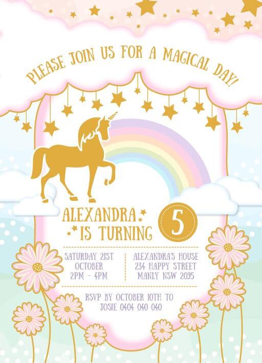 Birthday Invitations Erin C Designed By