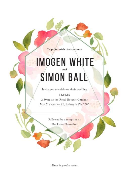 Wreath - Invitations