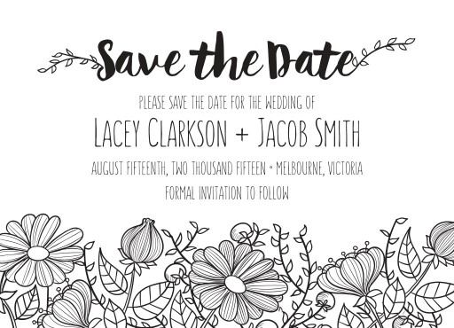 Daisy Chain - Save The Date