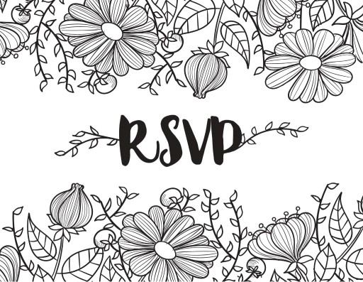 Daisy Chain - RSVP Card