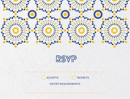 Kaleidoskop - RSVP Card