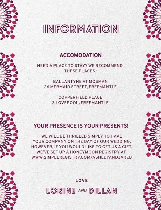 Kaleidoskop - Information Card