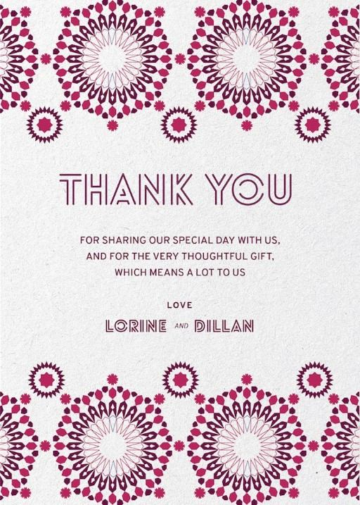 Thank You Cards Thank You Notes Independent Designs Printed By