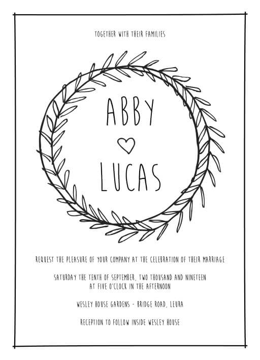 Sweet Suite - Wedding Invitations