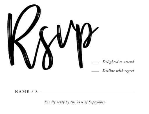 Script Your Day - RSVP