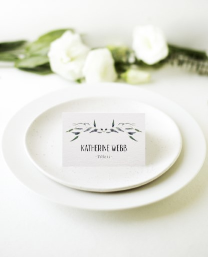Eucalypt Classic - Place Cards