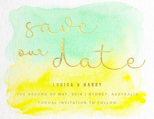 Bronte - Save The Date