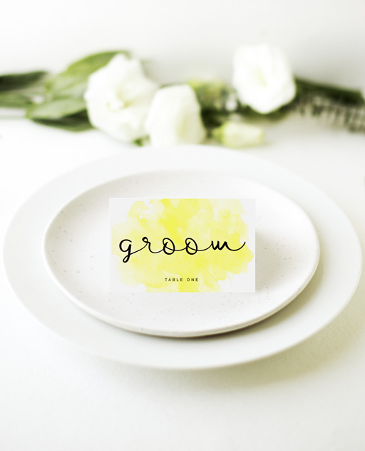 Bronte - Place Cards