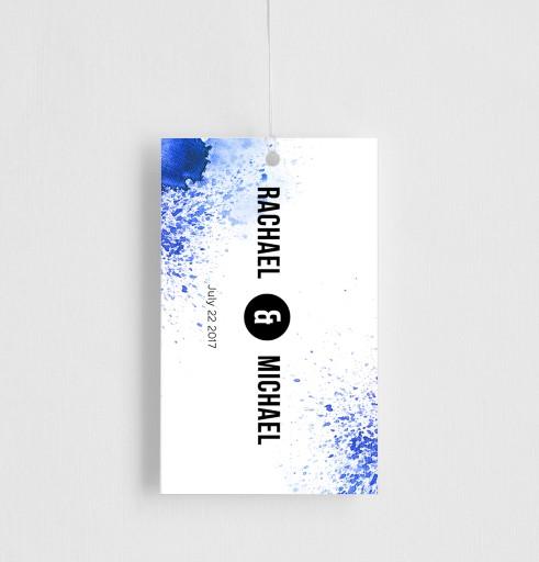 Watercolour splash - gift tags