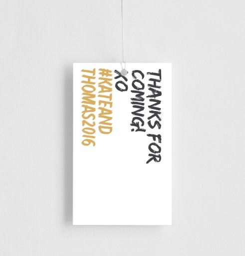 XO - gift tags