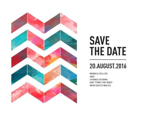 Chevron - Save the Date