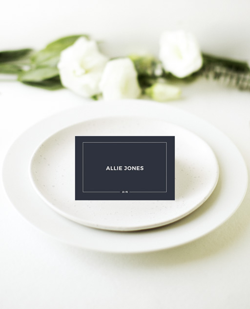 Simplicity - Place Cards