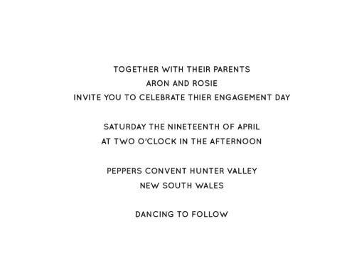 Type - Invitations