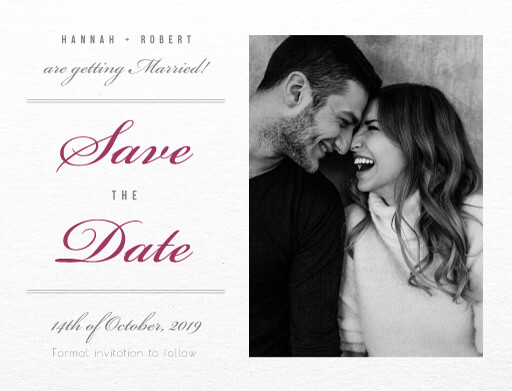 Movie Theatre - Save The Date