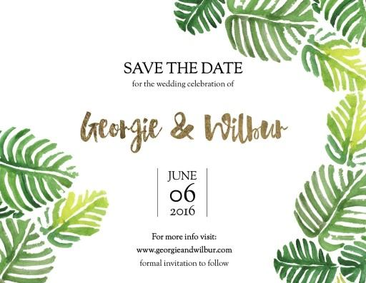 Palmy - Save The Date
