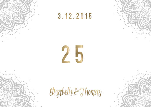 Elegant Collection - Table Numbers