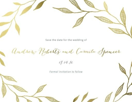 Leaves - Save The Date