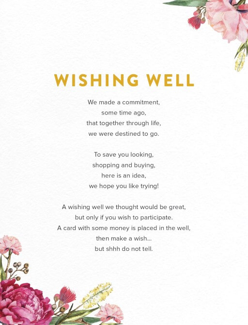 Garden Party - Wishing Well