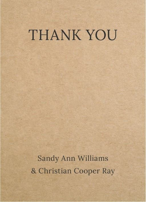 Tree House - Thank You Cards