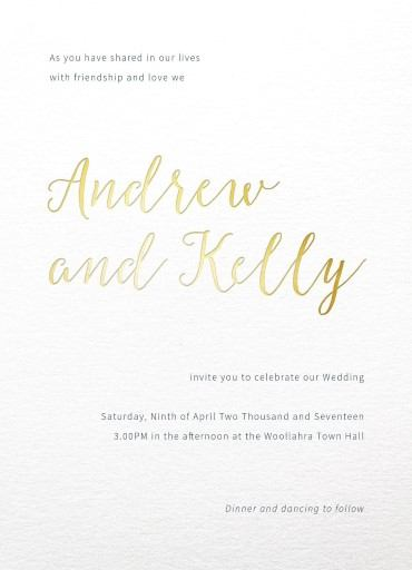 Rustic - Invitations