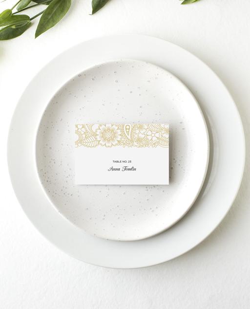 Batik Bagus - Place Card