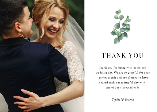 Eucalyptus - Thank You Cards
