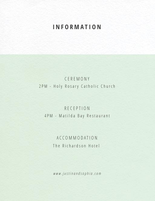 Neapolitan Icecream - Information Card