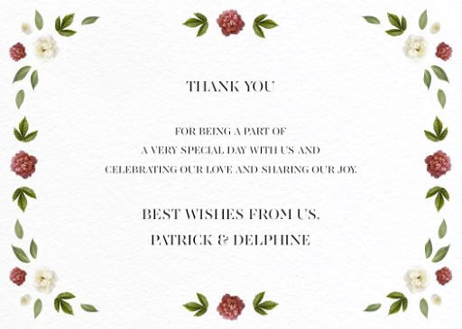 Delphine Rouge - Thank You