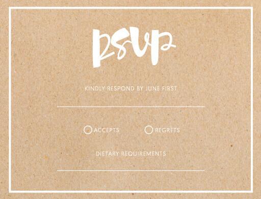 Foil Of Dreams - RSVP Cards