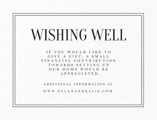 Classic Design Letterpress Wedding Invitations
