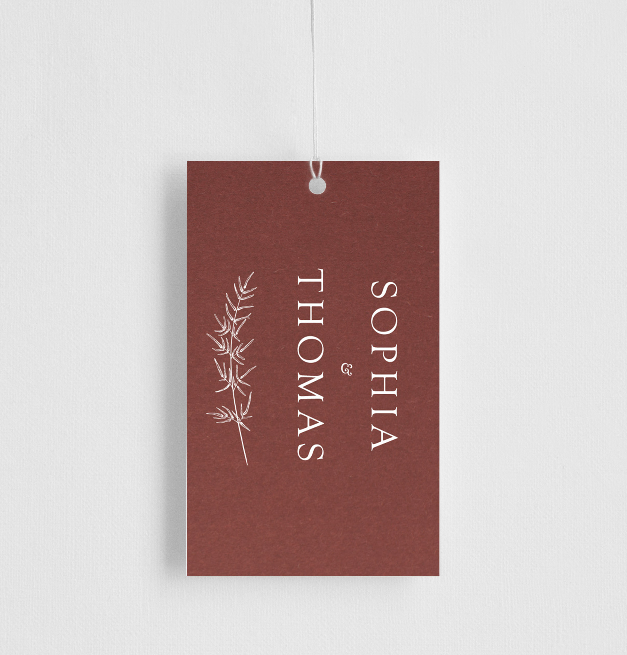 Winter Fire - Gift Tags