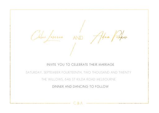 Modern Mode - Wedding Invitations