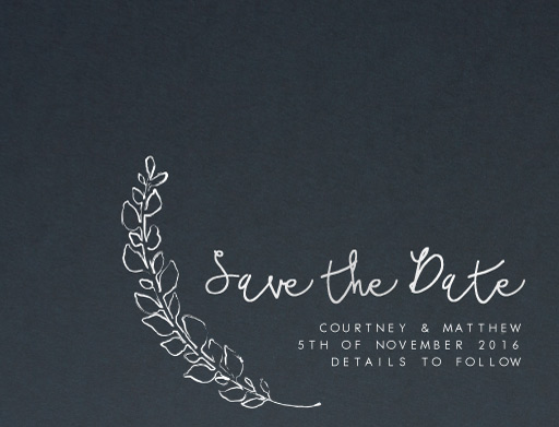 Competition Winner - Save The Date