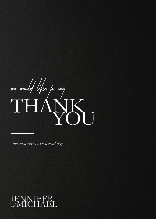 The BWM - Thank You Cards