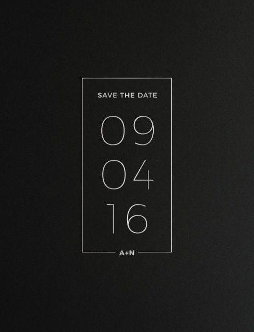 Simplicity - Save The Date