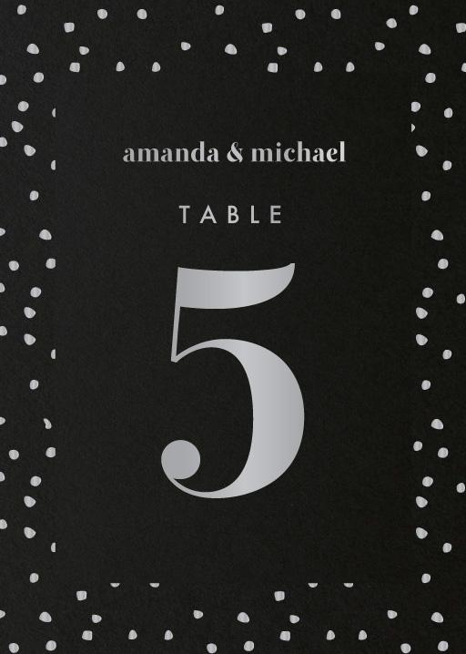 Minimalist Spot - Table Numbers