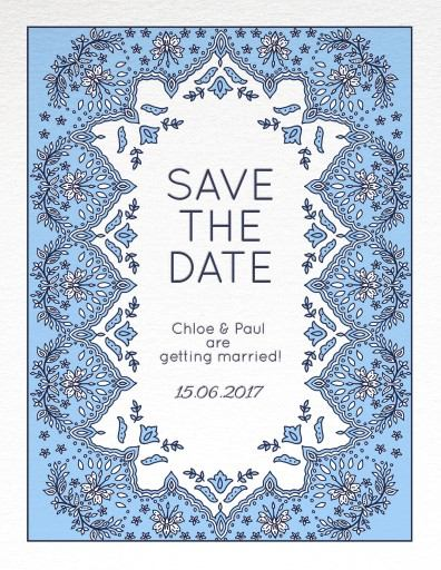 Decorative Lace - Save The Date